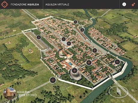 L antica Aquileia rinasce in 3D.