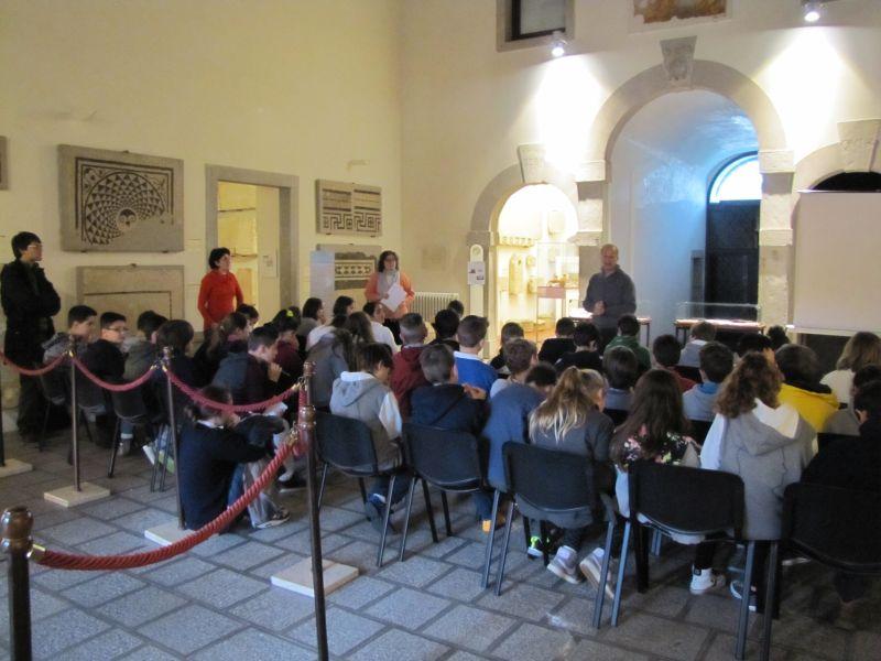 CIVIDALE DEL FRIULI (Ud), Visita al Museo Archeologico Nazionale.