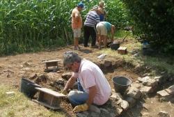 MORUZZO (Ud). Villa rustica romana scoperta nei campi a Muris.
