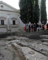 SAN CANZIAN D'ISONZO (Go). Resti romani, forse sono la dimora dei Martiri Canziani.