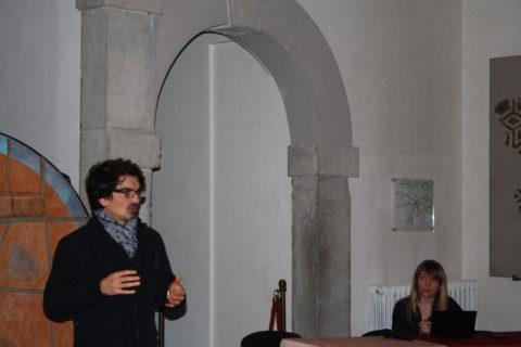 17 nov 2016 Filippo Rosset presenta Lorena Cannizzaro
