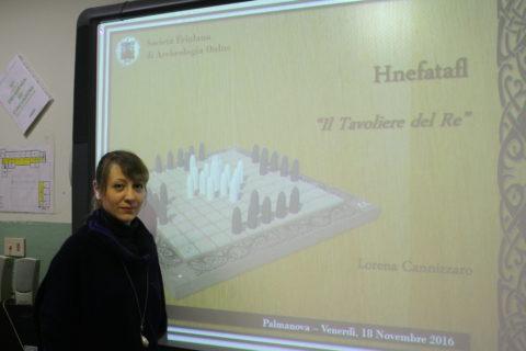 18 nov 2016 Lorena Cannizzaro interviene alla scuola di Palmanova