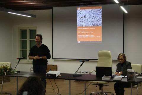 26 nov 2016 Christian Selleri presenta Laura Chinellato a Romans d Isonzo
