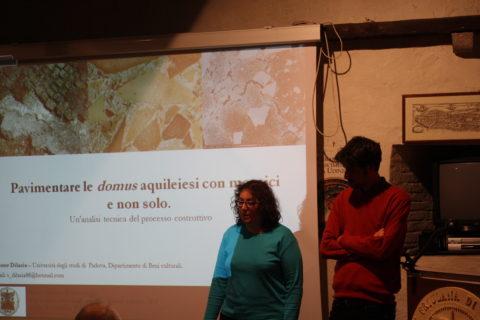 3 nov 2016 Simone Dilaria presenta Pavimentare le domus aquileiesi con mosaici e non solo