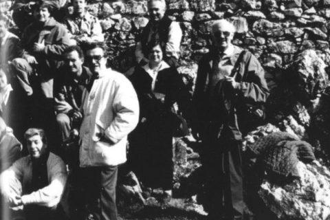 1994, Viaggio SFA in Trentino, foto da Claudio Maddaleni