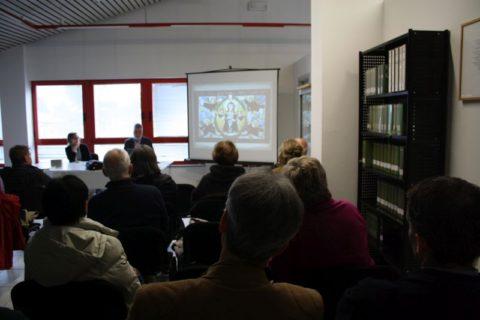 4 maggio 2017, Maurizio Buora presenta il volume di Laura Chinellato alla Biblioteca di Pasian di Prato.