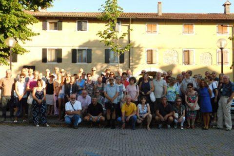 18 luglio 2017, Aquileia, il gruppo dei presenti.