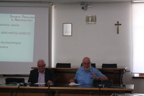 22 luglio 2017, Tolmezzo, termine Conferenza Stampa presentazione Agosto Archeologico
