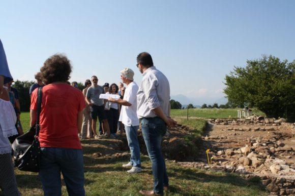 22 luglio 2017, presentazione pubblica dell area scavata