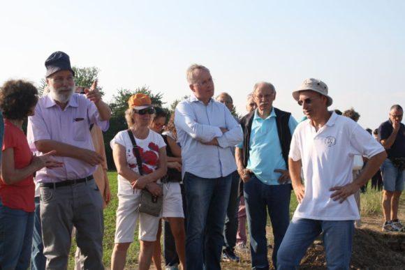 22 luglio 2017, presentazione pubblica dell area scavata con approfondimenti