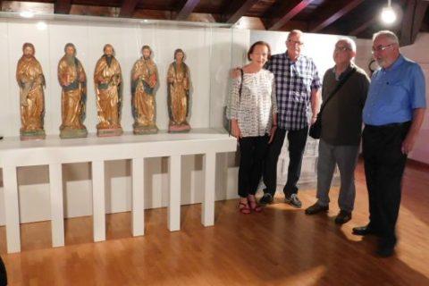 30 luglio 2017, presentazione delle stutue lignee di San Pietro recuperate