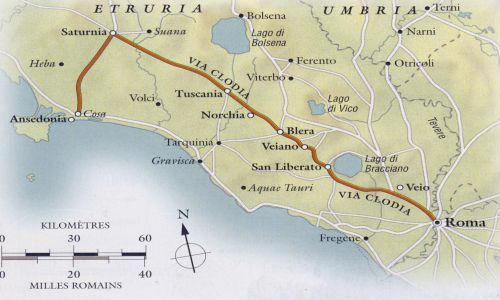 ALTO LAZIO/TOSCANA. Cercando la via Clodia.