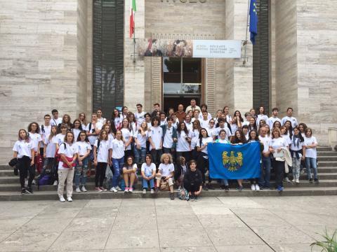 Progetto Paestum 2017: Liceo Scientifico Statale G. Marinelli di Udine.