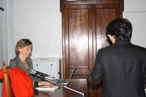 16 nov 2017, Elisabetta Borgna ha parlato su Ca Baredi