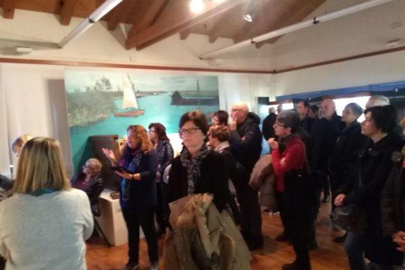 25 mar 2018, visita guidata al Museo Archeologico della Laguna di Marano Lagunare.