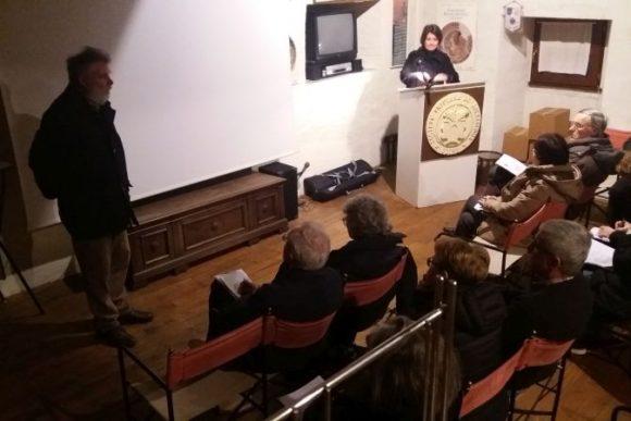 27 mar 2018, Maurizio Buora presenta Diana Dobreva che accompagnerà in Bulgaria