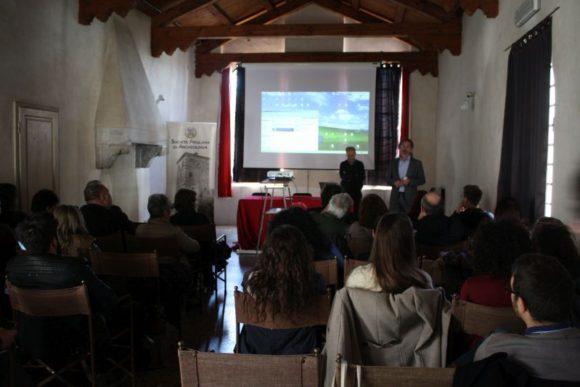 7 apr 2018, apertura convegno Aquileia sulle sepolture di bovini