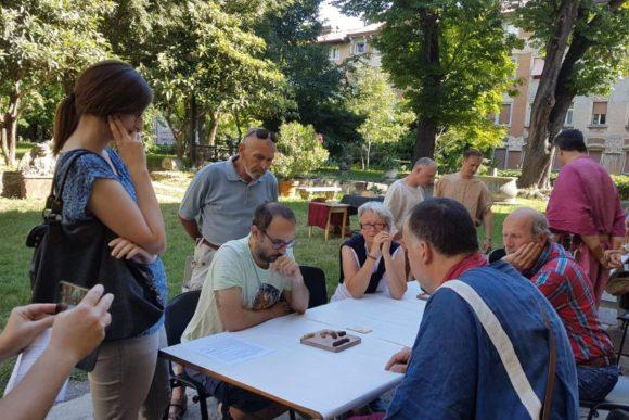 23 giu 2018, Trieste torneo Ludus Latrunculorum