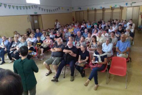 15 giugno 2018, la Sezione Isontina a Begliano.