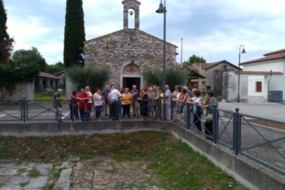 30 giu 2018, nella piazza di Monastero di Aquileia.