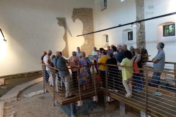 30 giu 2018, visita a Monastero di Aquileia.