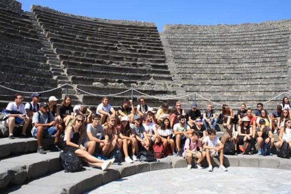 7 set 2018, al teatro di Pompei.