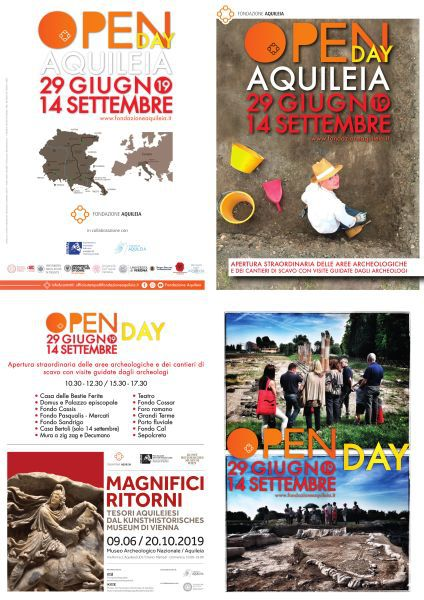 AQUILEIA (Ud). Open day 14 settembre 2019.