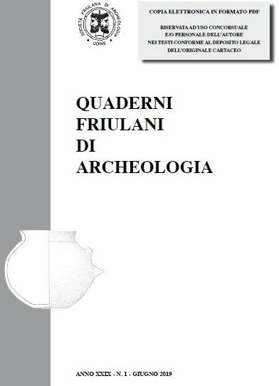 QUADERNI FRIULANI DI ARCHEOLOGIA