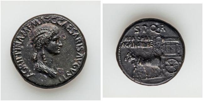 Gaia MAZZOLO. L'iconografia monetale delle Auguste attraverso i secoli. La dinastia Giulio-Claudia.