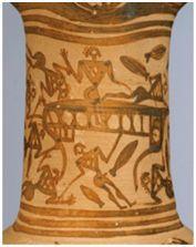 L'OINOCHOE 8696 DI MONACO Il naufragio di Odisseo e l'arte del Tardo Geometrico, di Angelo La Licata.