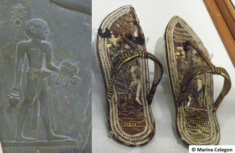 Marina CELEGON. Anche Tutankhamon portava le infradito.