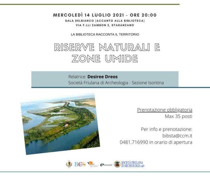 Riserve naturali e zone umide, a cura di Desirée Dreos.